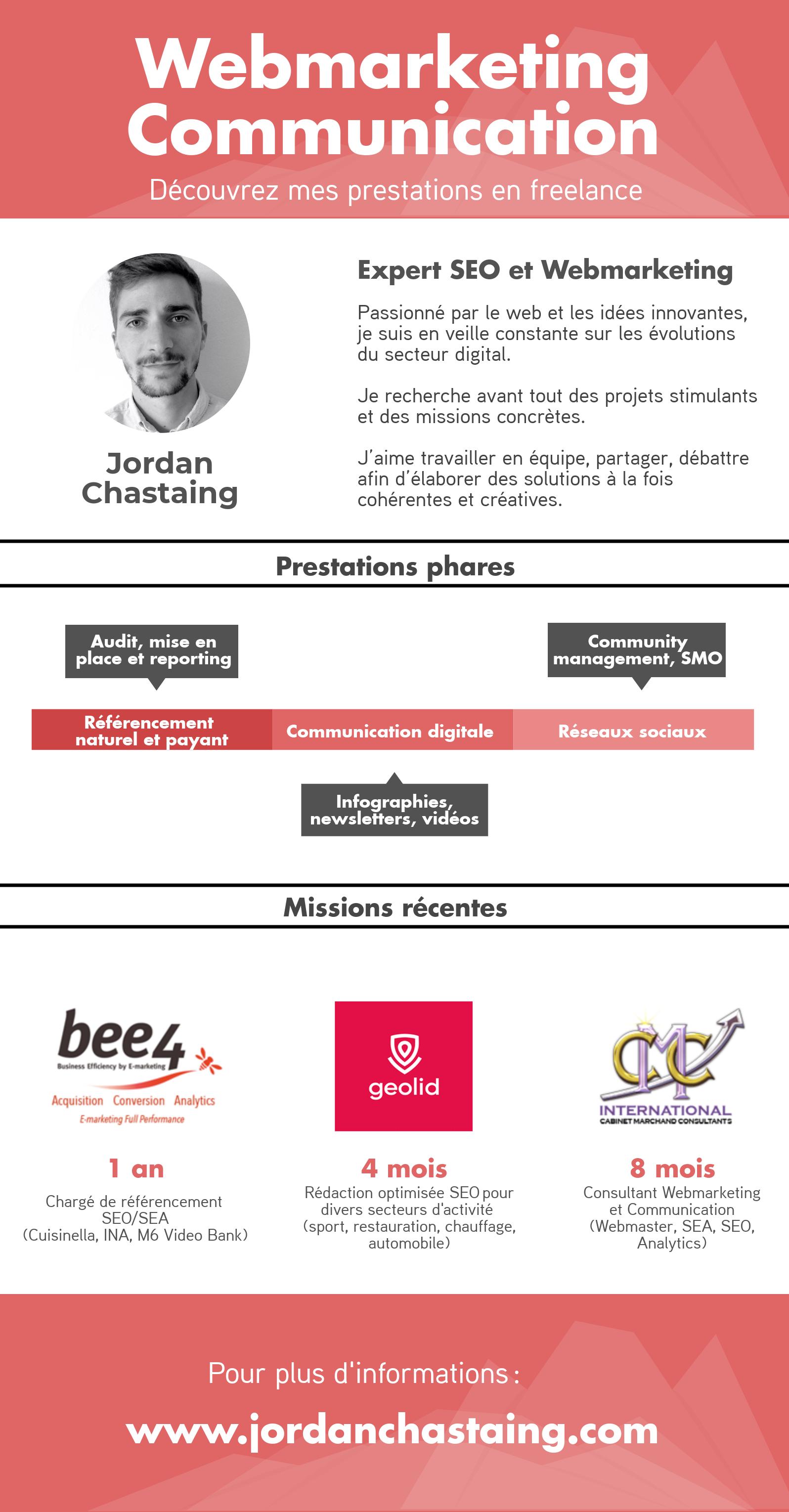 infographie freelance webmarketing SEO