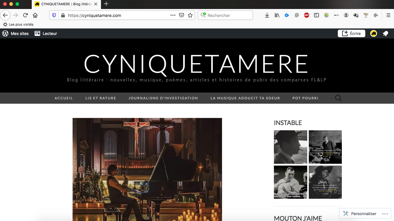 blog littéraire cyniquetamere