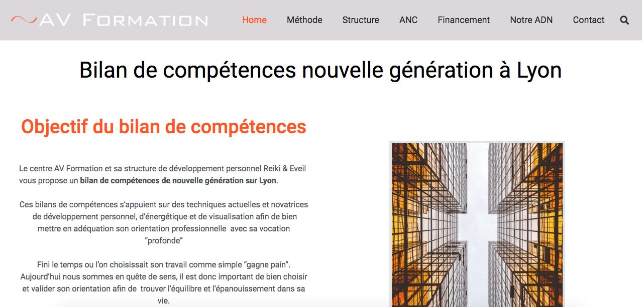 Netlinking Lyon Bilan Compétences