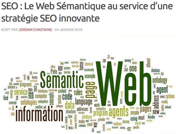 Web Sémantique SEO Rédaction